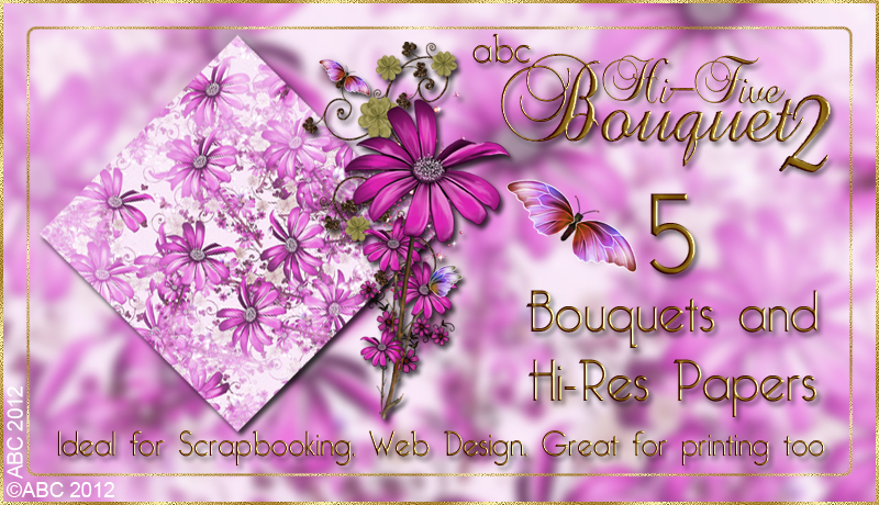 ABC HiFive Bouquet 2 by Bez