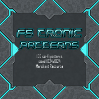 FS TroNic Patterns 2D And/Or Merchant Resources Themed FrozenStar