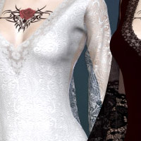 Sombre Dynamic Gowns for V4 image 1