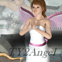 TY2 Angel 3D Figure Essentials 3DTubeMagic