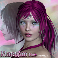 Maegan Hair V4-A4-G4 by nikisatez