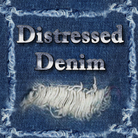 Distressed Denim 2D mystikel