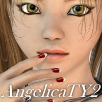 Angelica TY2 3D Figure Essentials 3D Models JudibugDesigns
