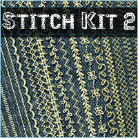 Merchant Resource: Stitch Kit 02 2D Graphics Merchant Resources Sveva