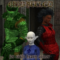 Embattled for Sickle Heavy Armor  fuseling