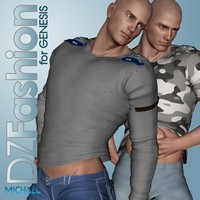 DZ MilTop for Genesis 3D Figure Essentials dzheng