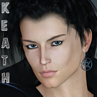 Keath for M4 & H4 3D Figure Essentials 3D Models Lajsis