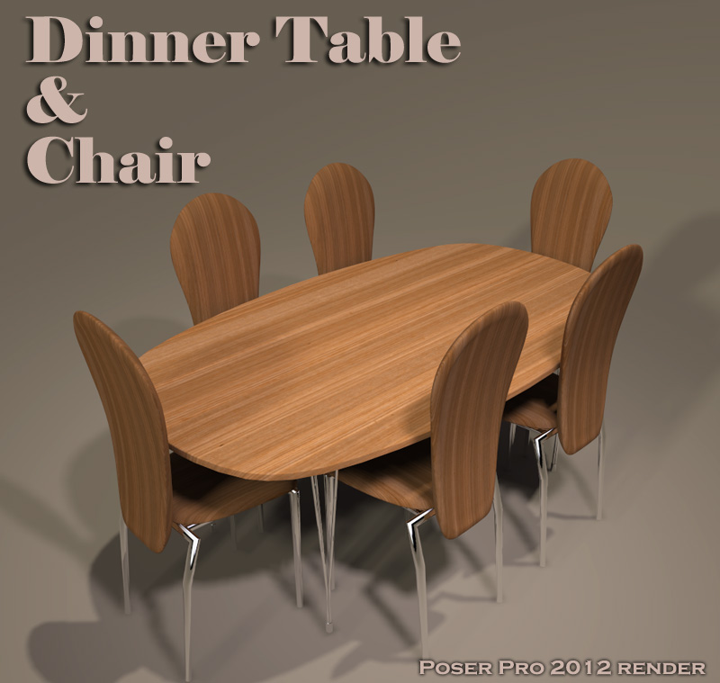 Dinner Table & Chair