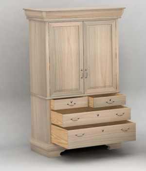 Furniture Set One, Armoire by DreamlandModels