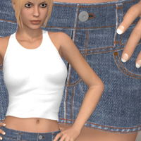 Hot South III 3D Figure Assets 3D-Age