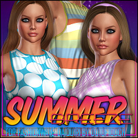 Summer Breeze for FASHIONWAVE: Daiquiri Clothing ShanasSoulmate
