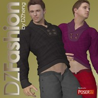 DZ Fashion Set 6 for M4H4Guy4 3D Figure Assets dzheng