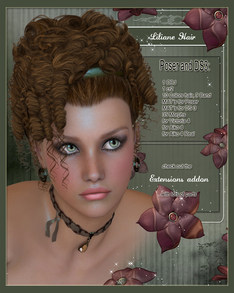 Liliane Hair for V4