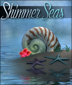 Shimmer Seas Backgrounds 2D Graphics Sveva