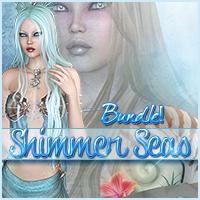 Shimmer Seas Bundle 2D Graphics 3D Figure Assets Sveva