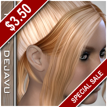 PHC: DejaVu Hair Themed Hair P3D-Art