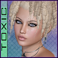 ToXic Liliane Hair Silver