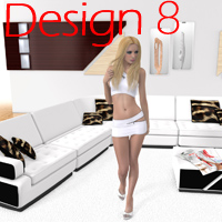 Arrin i13 Design 8 Poses/Expressions Accessories Props/Scenes/Architecture ironman13