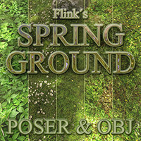 Flinks Spring Ground Props/Scenes/Architecture Themed Flink
