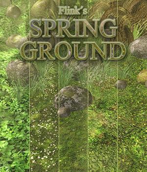 Flinks Spring Ground 3D Models Flink