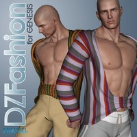 DZ DeepChest for Genesis 3D Figure Assets dzheng