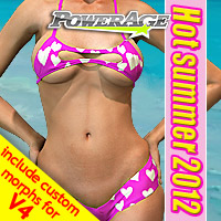 Hot summer 2012 3D Models 3D Figure Assets powerage