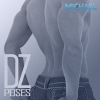 DZ For M5 Pose Set 2 3D Figure Assets dzheng