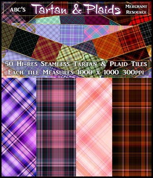 ABC Tartan and Plaids 2D Graphics Bez