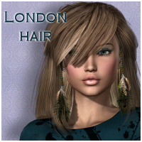 London Hair V4, A4, G4 & Aly2 Hair Themed Software RPublishing