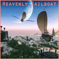 Heavenly Sailboat 3D Models 1971s