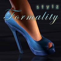 Stylz Formality Shoes 3D Figure Assets PureEnergy