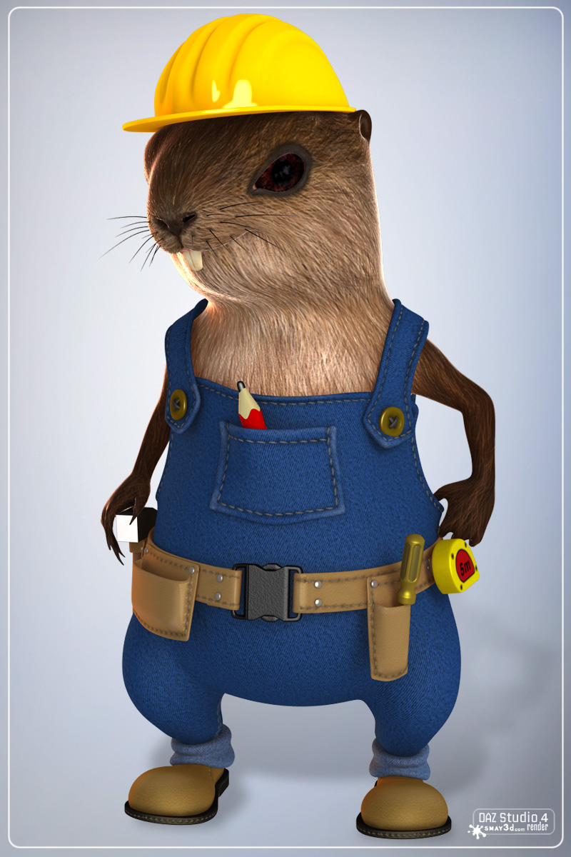Beaver for DAZ Studio 4