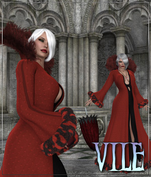 VILE for Cruel Ella Outfit Clothing Themed Anagord