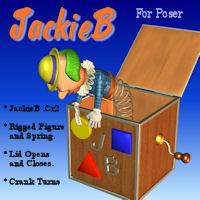JackieB Gaming 3D Figure Essentials 3D Models pappy411