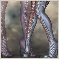PA Stylz for Venus Boots 3D Models 3D Figure Essentials Belladzines