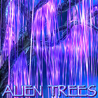 Alien Trees 3D Models designfera