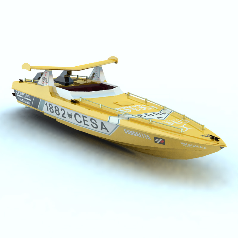 Offshore Racer (for Vue)