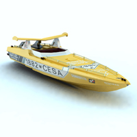 Offshore Racer (for Vue) Transportation Themed Digimation_ModelBank