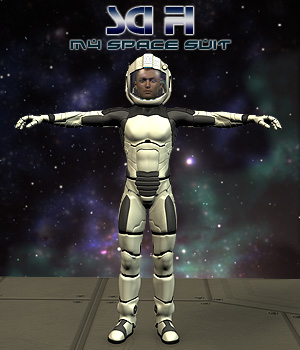 Space Suit For M4 3D Models 3D Figure Essentials Simon-3D