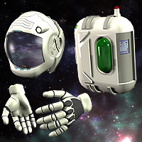 Space Suit For M4 image 7