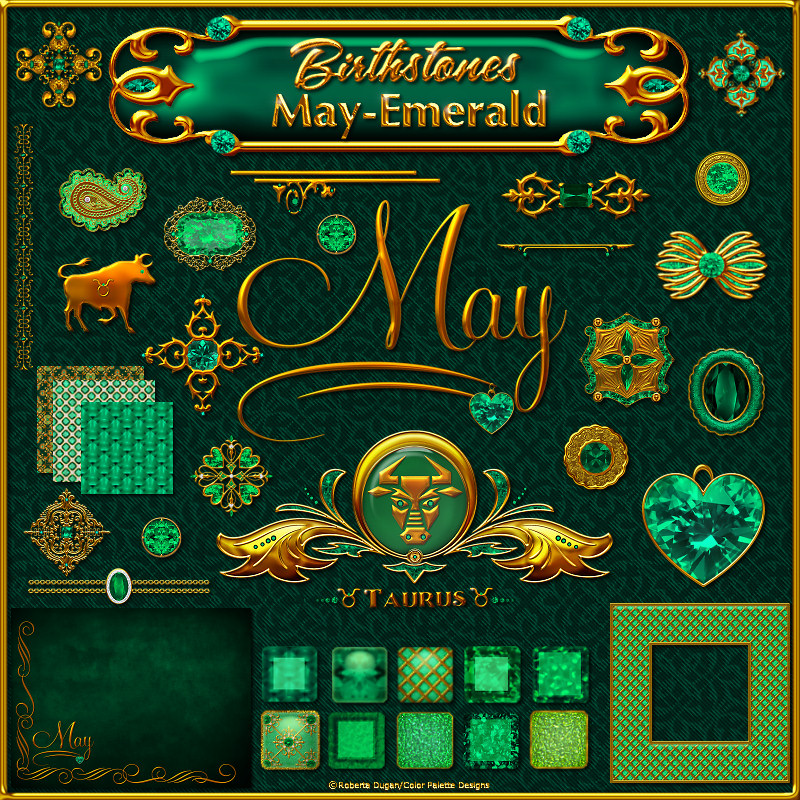 Birthstone Bling!: May-Emerald