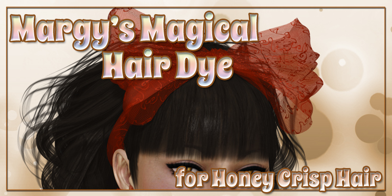 Margy's Magical Hair Dye for Honey Crisp Hair