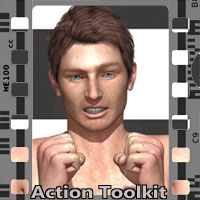Action Toolkit M4 Software Poses/Expressions 3-d-c