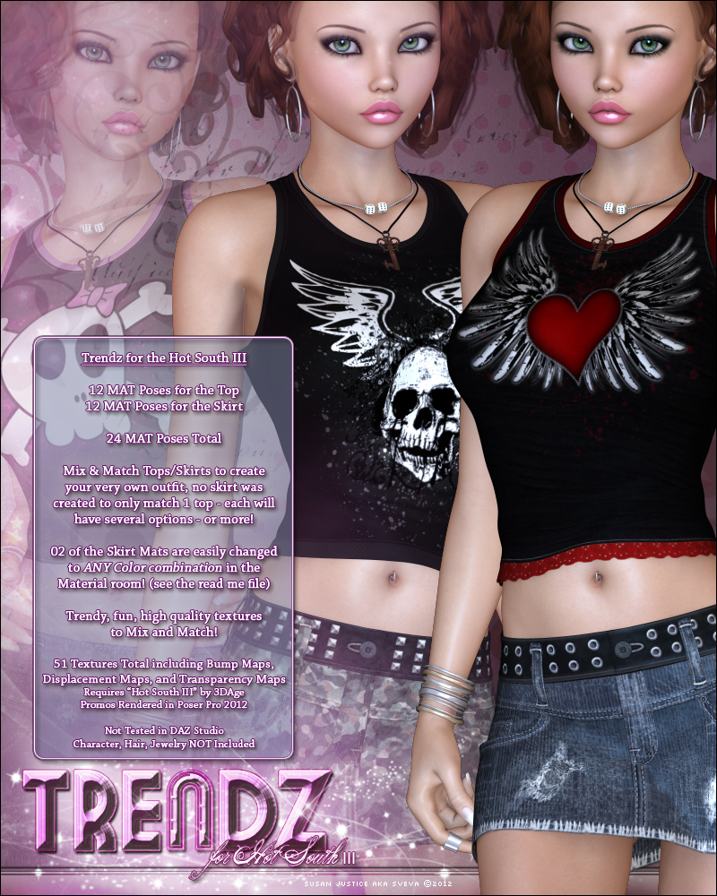 Trendz for Hot South III