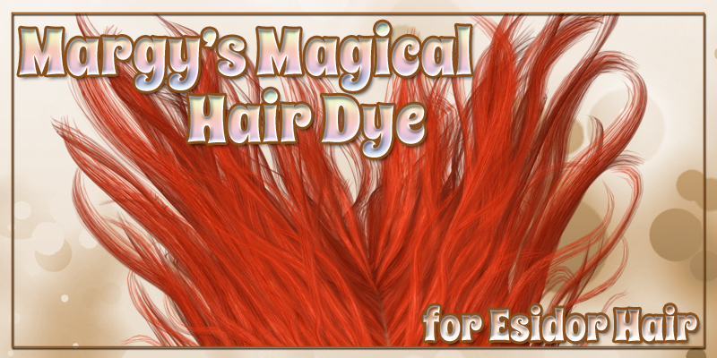 Margy's Magical Hair Dye for Esidor Hair