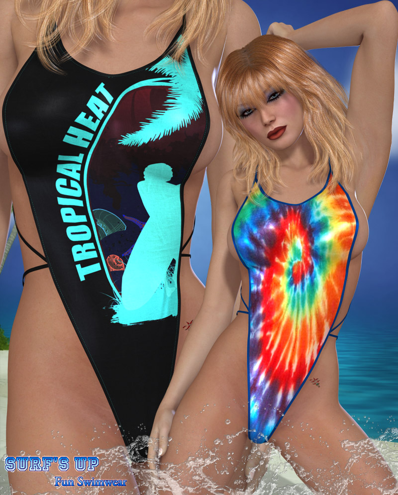 Surf's Up - Fun Swimwear