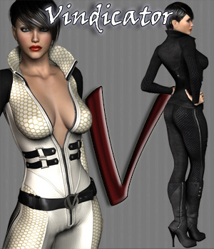 Vindicator Suit Gaming 3D Figure Essentials 3D Models RPublishing