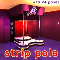 Strip Pole 3D Models Software 3D Figure Essentials greenpots