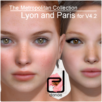 The Metropolitan Collection - Lyon and Paris V4.2 3D Figure Essentials danae