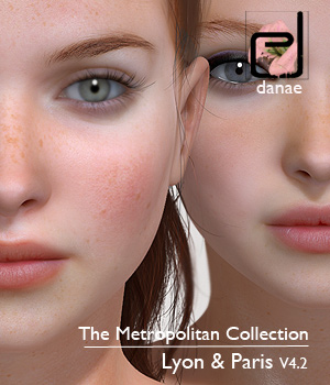 The Metropolitan Collection - Lyon and Paris V4.2 3D Figure Assets danae